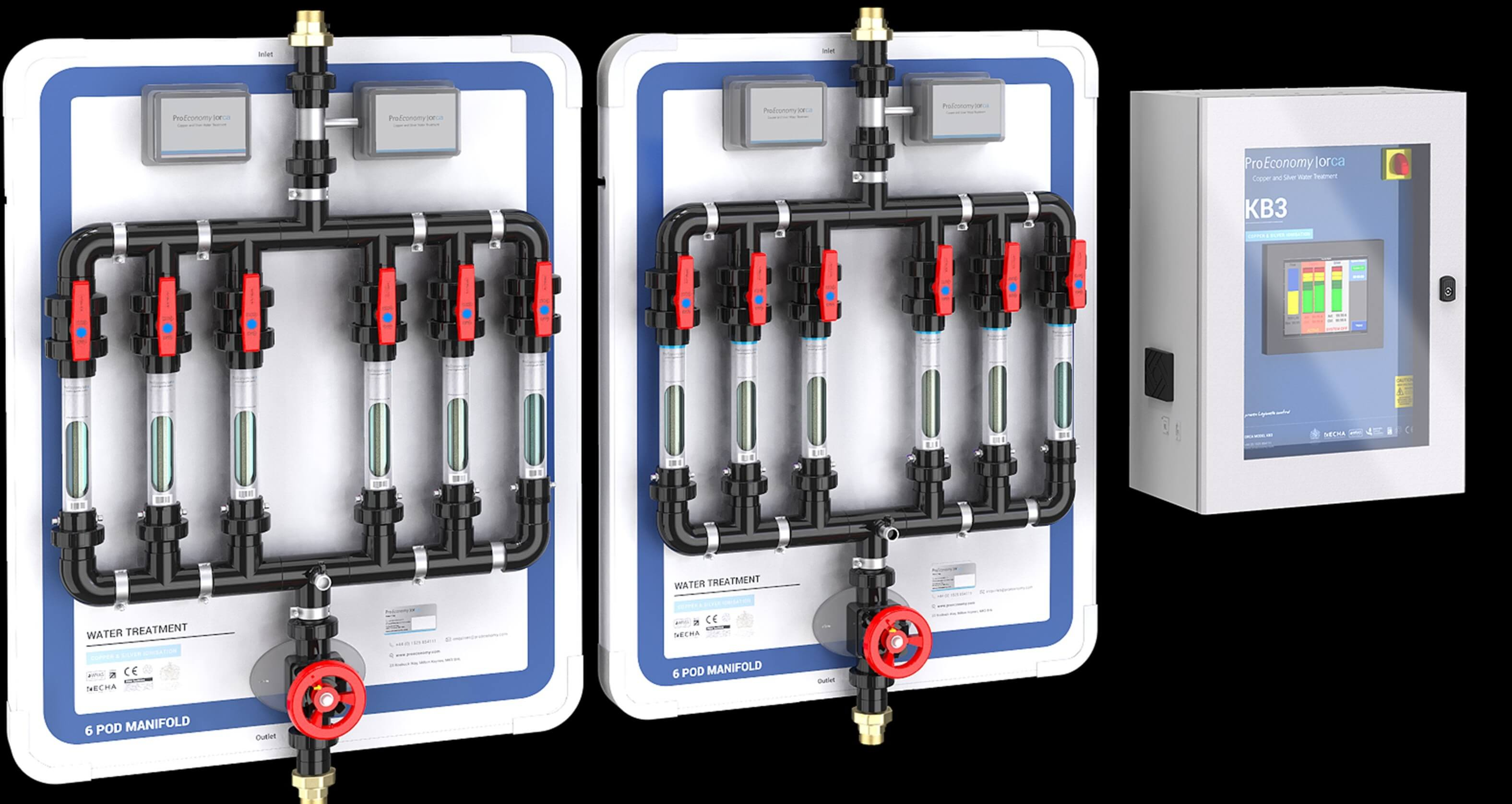 Orca System | Copper and Silver Ionisation | Legionella Water Treatment