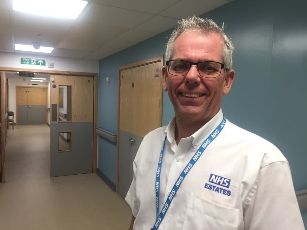 Peter Arnold, estates maintenance manager at Royal Bournemouth and Christchurch Hospitals NHS Foundation Trust